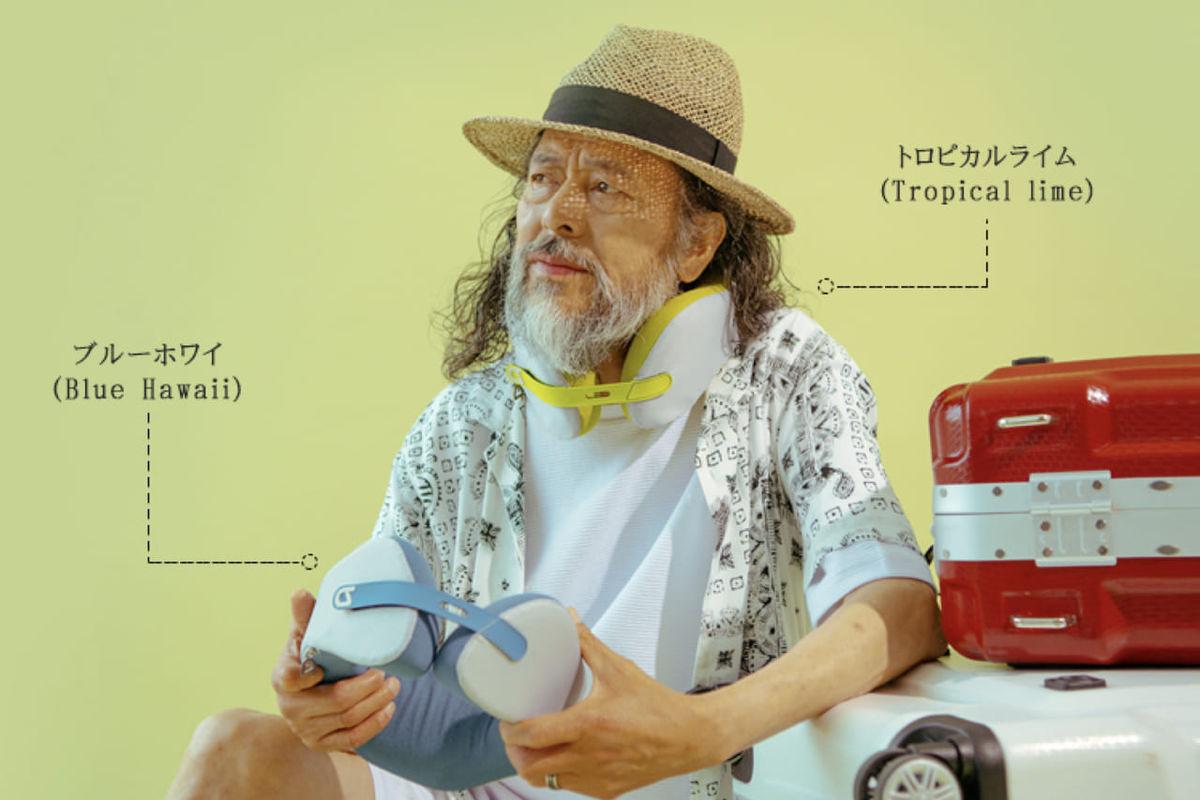 ロングドライブの疲れを緩和。整体師が考案、人体光学デザインで首周りを360度包み込むスマートネックピロー「AKENECK」のアイキャッチ