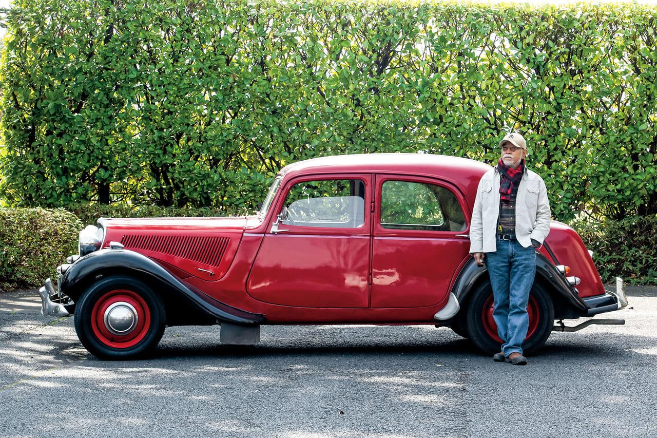 一期一会の出合いを信じて手に入れた愛車「シトロエン ライトフィフティーン」(1956/フランス)|わたしが クラシックカーに乗り続ける、その理由。のアイキャッチ