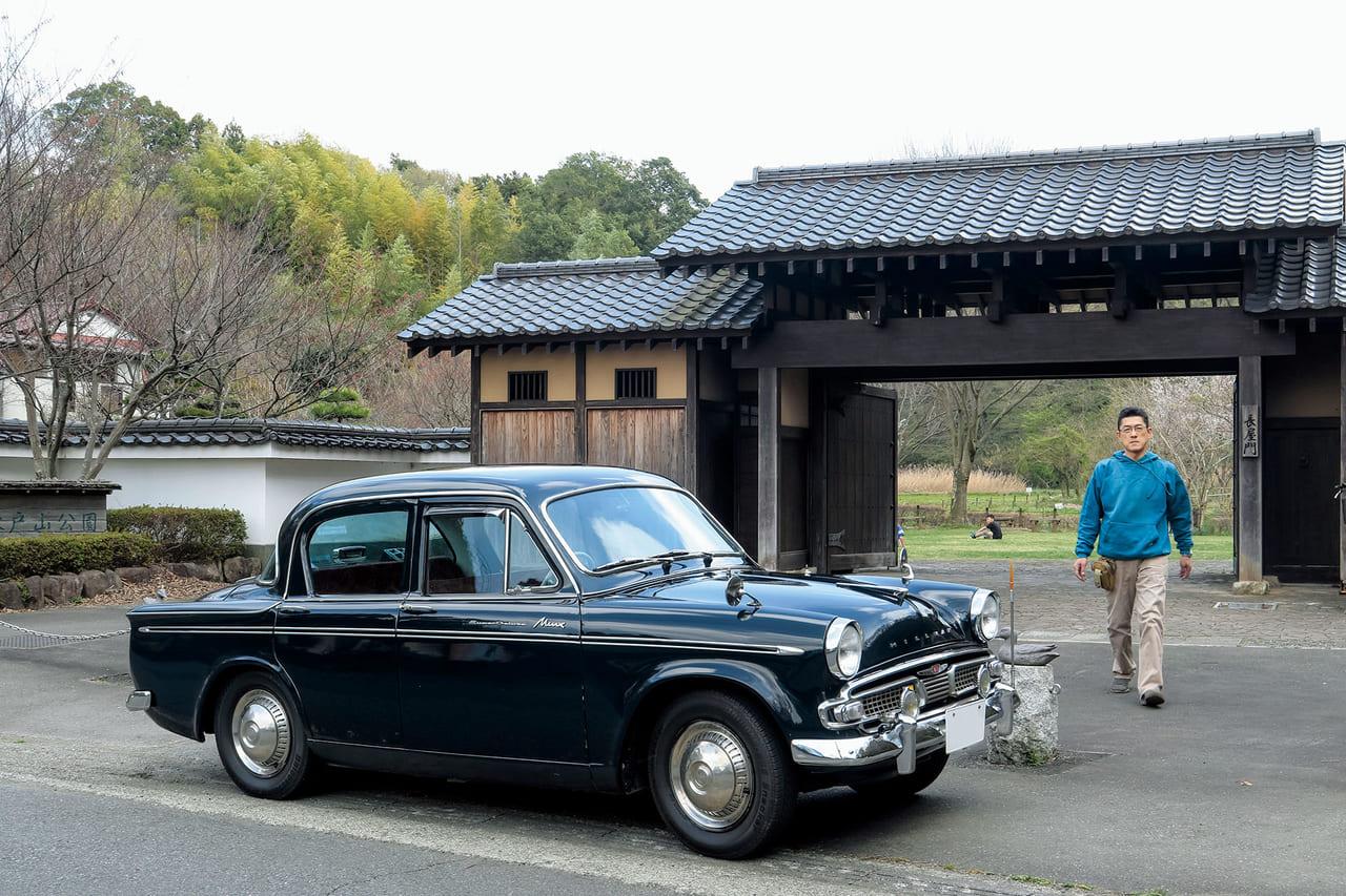 乗っていて楽しい。乗り続けてわかる旧車の魅力「ヒルマンミンクス」(1964/日本)|わたしが クラシックカーに乗り続ける、その理由。のアイキャッチ