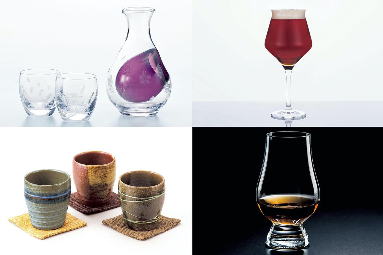 ひとり家呑みが愉しくなる!美味しい酒を飲むための酒器ベストセレクション23のアイキャッチ