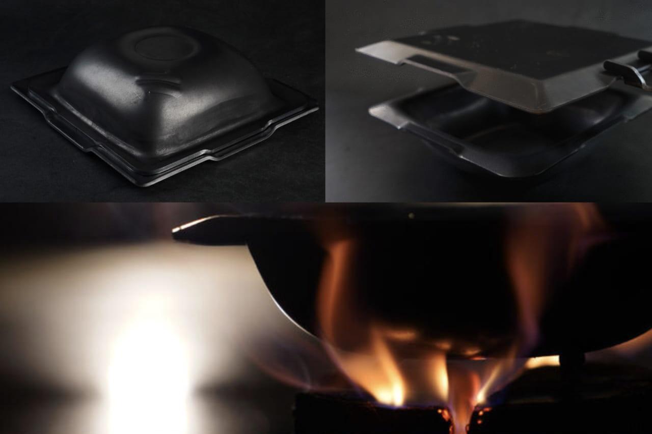 無骨に見えて繊細な仕事ぶり。どちらも蓋・調理ギアになる鉄板&鉄鍋「垣天火 ENTENKA」が男のソロキャンプにベストマッチ!のアイキャッチ