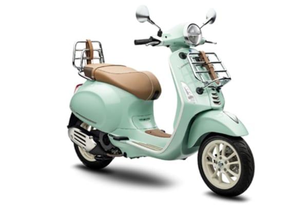 「春ピクニックはベスパでGO!ナチュラルカラーがお出かけ気分を誘う特別仕様車スクーター「Vespa Primavera 150 Picnic」」のアイキャッチ画像