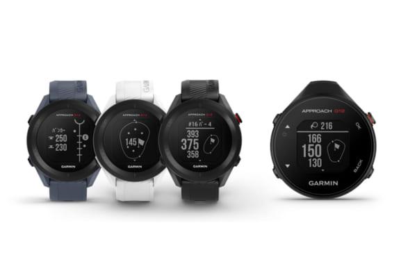 「Garminからシリーズ最軽量のGPSゴルフナビが登場!腕時計型とハンディ型をラインアップ。予約は2021年4月15日(木)スタートだ」のアイキャッチ画像