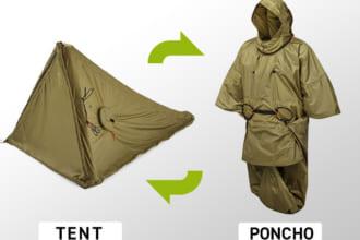 「【着るテント】この発想はなかった!ポンチョにもなる超軽量テント「Zelter Shelter」が登場。設営は空気を入れて約1分のお手軽さ」のアイキャッチ画像