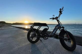 「存在感は一級品! ファットタイヤが他に差をつける折りたたみ3Wayフル電動バイク「de vida bike」が登場!」のアイキャッチ画像